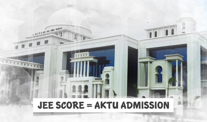 JEE scores to be used for AKTU Admissions in…