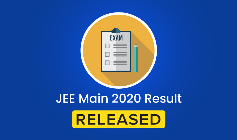 JEE Main 2020 Result Declared; Here's How You Can Check It